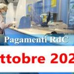 Reddito di cittadinanza pagamento Ottobre 2020 ricarica RdC