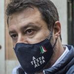 Matteo Salvini in tribunale a Catania oggi 3 ottobre 2020
