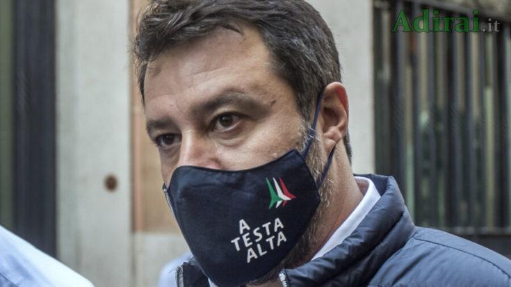 matteo salvini in tribunale catania oggi 3 ottobre 2020