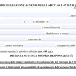 Autocertificazione modulo pdf editabile: Quando serve averla in zona gialla, arancione e rossa