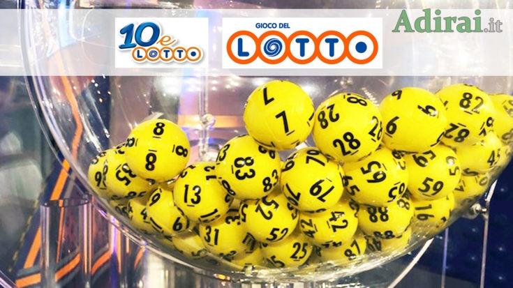 estrazione del lotto e 10elotto serale