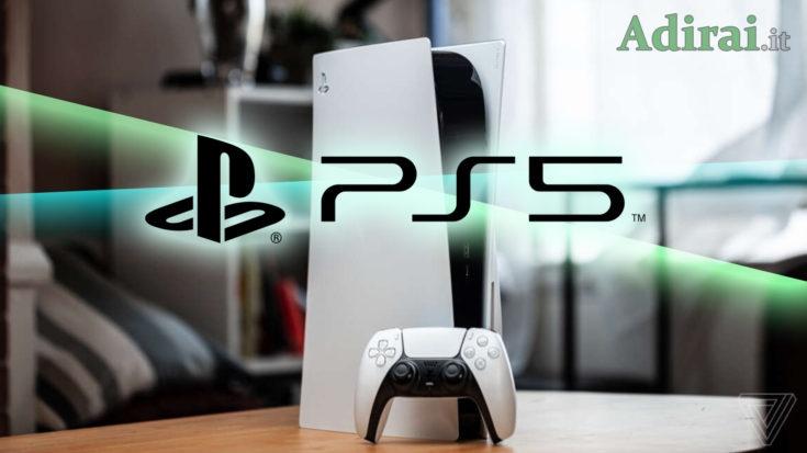nuova consolle Sony playstation 5 con giochi, prezzo e accessori