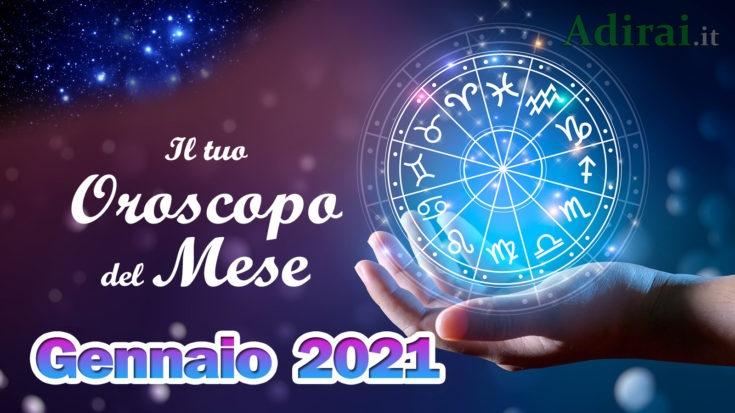 oroscopo del mese gennaio 2021 - tutti i segni zodiacali