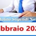 NoiPa cedolino Febbraio 2021 data accredito stipendi PA e Login