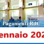 Reddito di cittadinanza pagamento Gennaio 2021 ricarica RdC