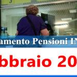 Calendario pagamento pensioni Inps febbraio 2021 in anticipo data accredito
