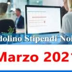 NoiPa cedolino Marzo 2021 data accredito stipendi PA e Login