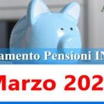 Calendario pagamento pensioni Inps di marzo 2021 in anticipo data accredito