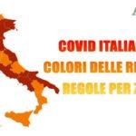 Covid Italia Mappa di oggi 15 marzo 2021, colori delle regioni e regole zona per zona