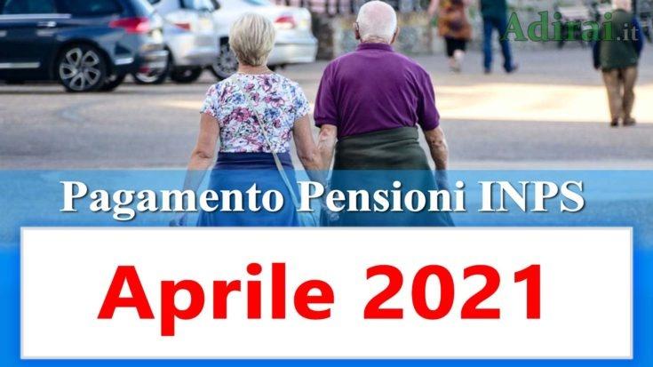 pagamento pensioni inps di aprile 2021 in anticipo in banca e in poste