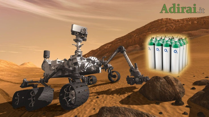 ossigeno su marte prodotto perseverance rover nasa