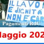 Reddito di cittadinanza pagamento Maggio 2021 ricarica RdC