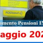 Calendario pagamento pensioni Inps di maggio 2021 in anticipo data accredito