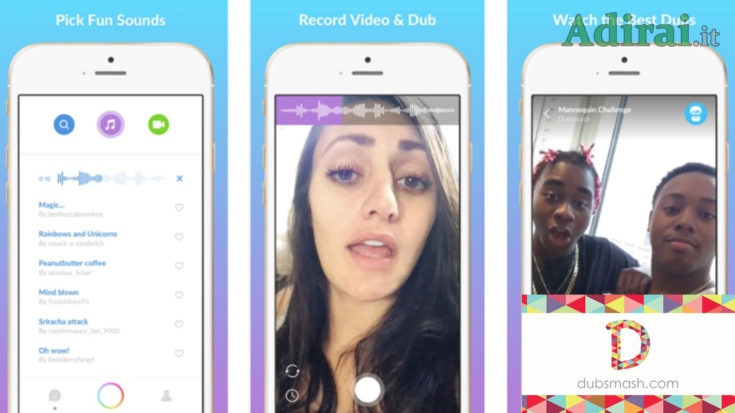 dubsmash.com come funziona la nuova app video selfie online