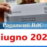 Reddito di cittadinanza pagamento Giugno 2021 ricarica RdC