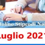 NoiPa cedolino Luglio 2021 data accredito stipendi PA e Login