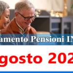 Calendario pagamento pensioni Inps di agosto 2021 in anticipo data accredito