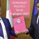 Ultimi Sondaggi Politici 9 giugno 2021 ultimissimi da Tecnè