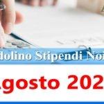 NoiPa cedolino Agosto 2021 data accredito stipendi PA e Login